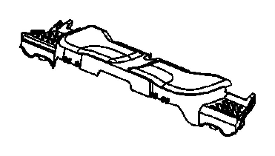 2006 Jeep Commander Cover. Module. Right. Trim: [all trim