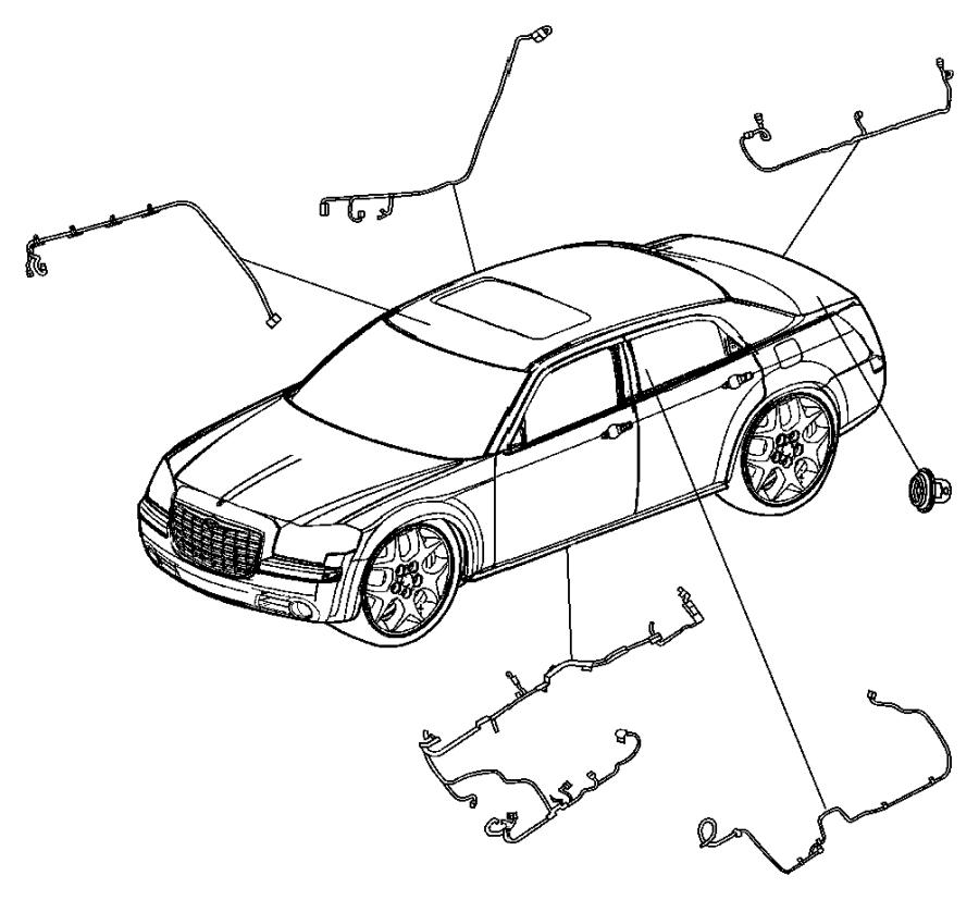 Dodge Charger Wiring. Mirror jumper. Wiperssmartbeam, lms