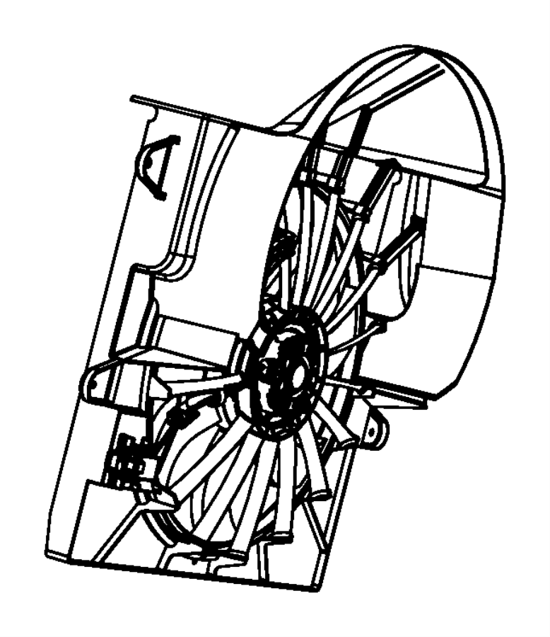 2008 Jeep Commander Solenoid. Hydraulic fan control