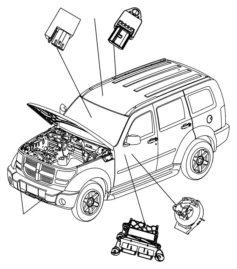 2014 Jeep Patriot Clockspring. Steering column control