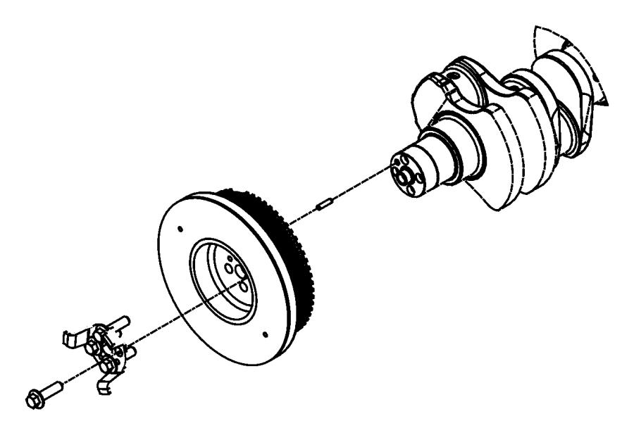 2011 Dodge Ram 5500 Damper. Crankshaft. Automatic