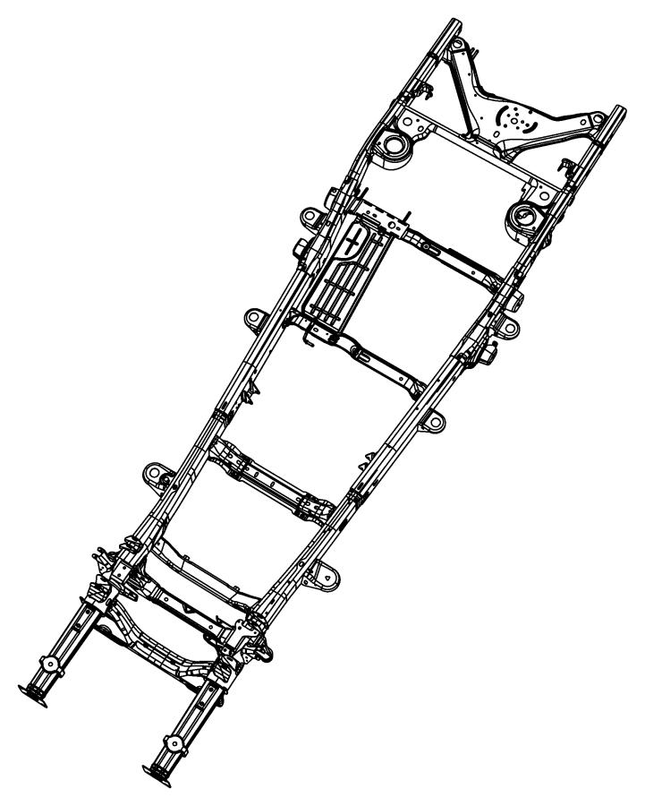 2007 Dodge Durango Bracket. Body mount. B- pillar. Frame