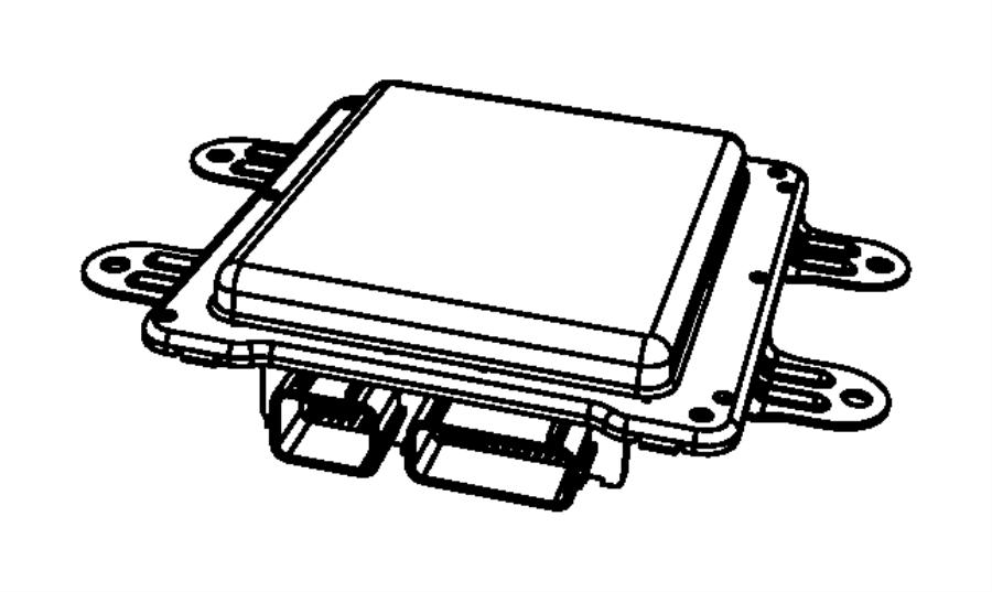 Dodge Durango Module. Front control. [quadra-trac i full
