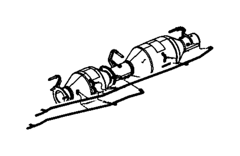 Dodge Ram Tube Particulate Filter Outlet