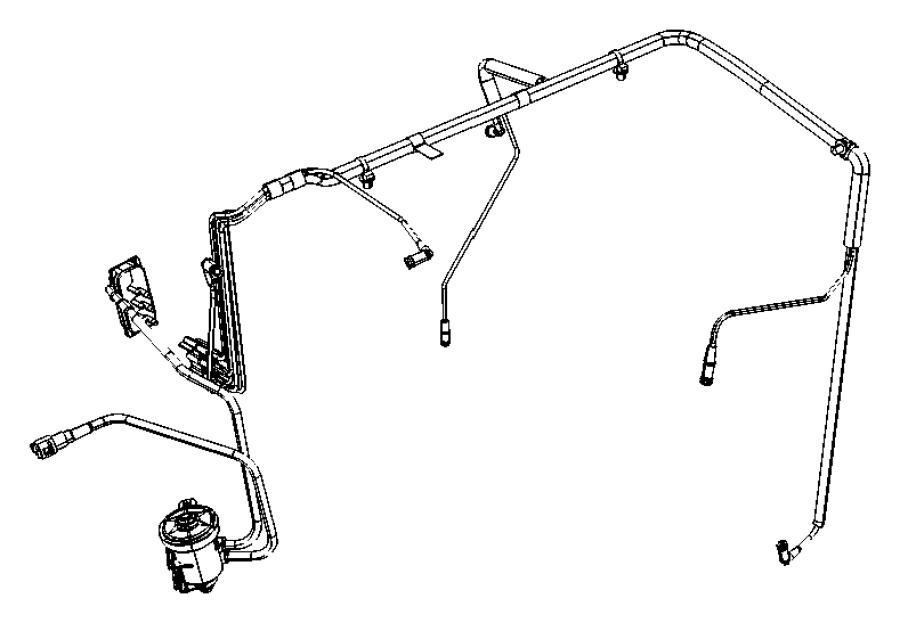 2010 Dodge Journey Actuator. Egr vacuum. Booster pressure