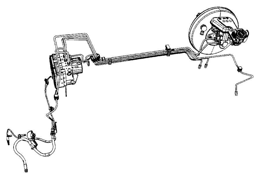 2008 Dodge Caliber Bracket. Anti-lock brake module, brake