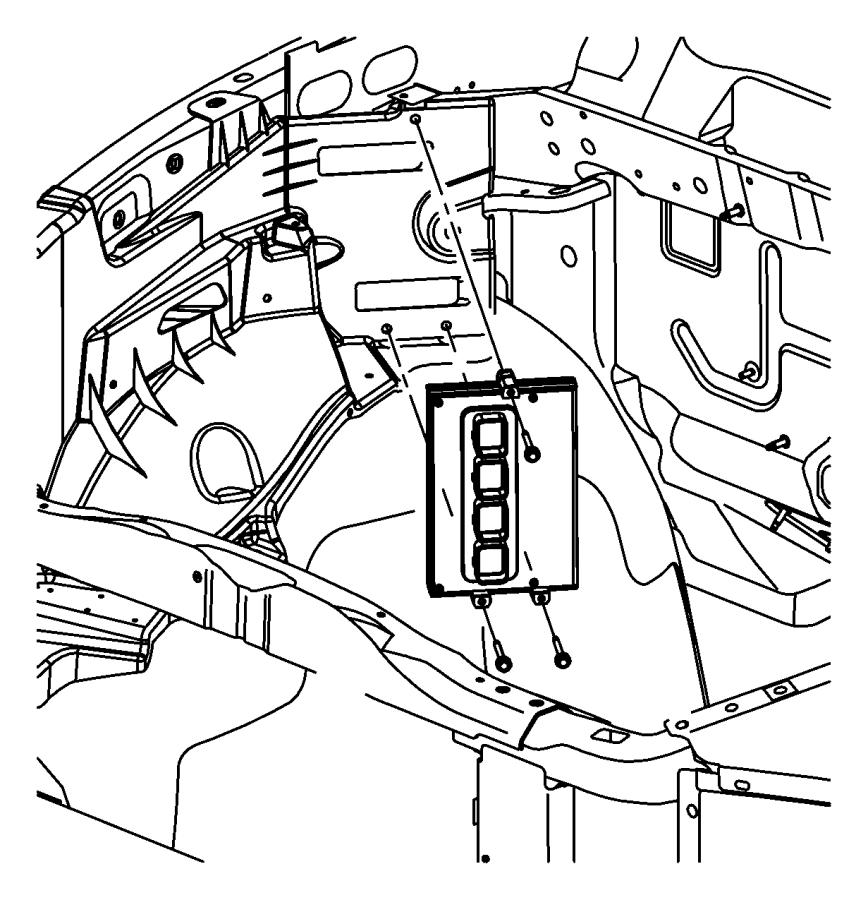 Dodge Dakota Module. Powertrain control. Emissions