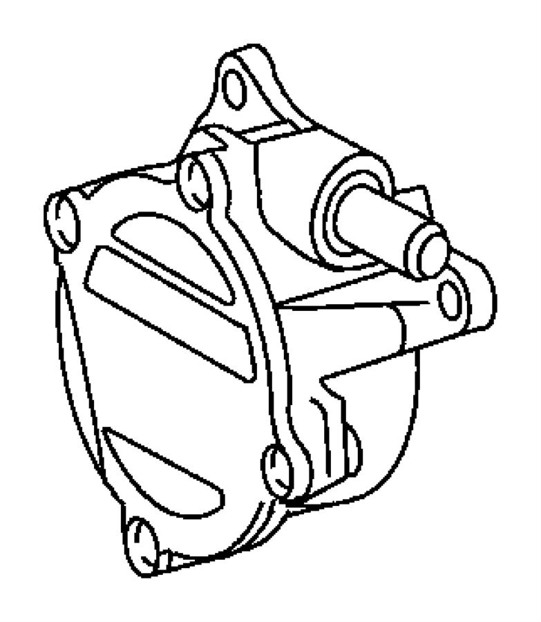 Jeep Grand Cherokee Pump. Vacuum. Diesel, turbo, engines