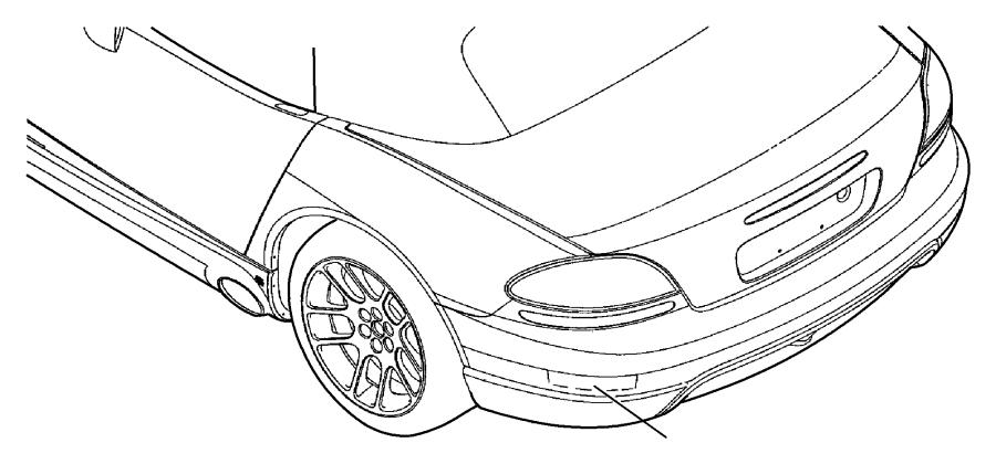 Dodge Viper Decal. Viper. Rear fascia. [no description