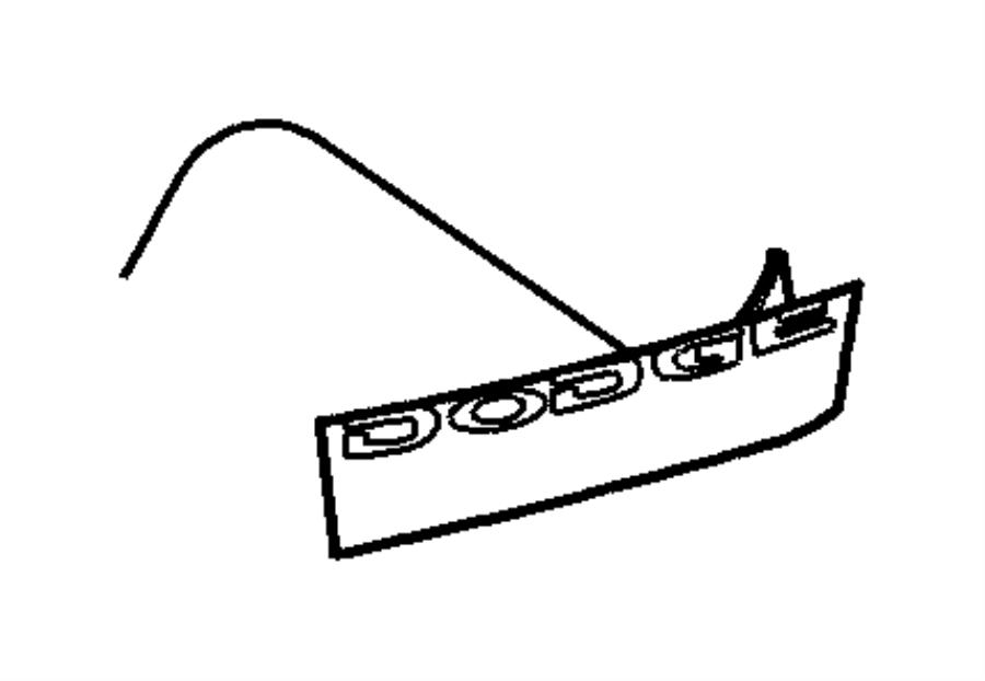 Dodge Viper Decal. [viper violet dodge badge]. Color: [no