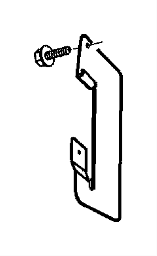 Dodge Viper Bracket. Wiring, wiring harness. After [08/11