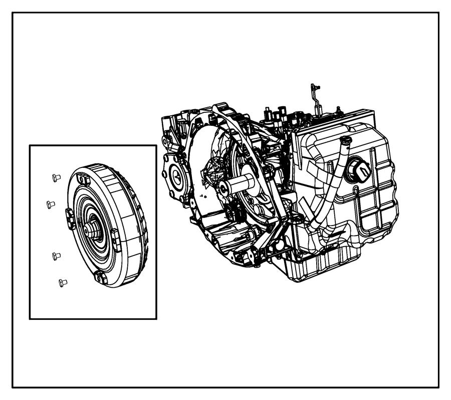 2007 Dodge Avenger Transmission kit. With torque converter