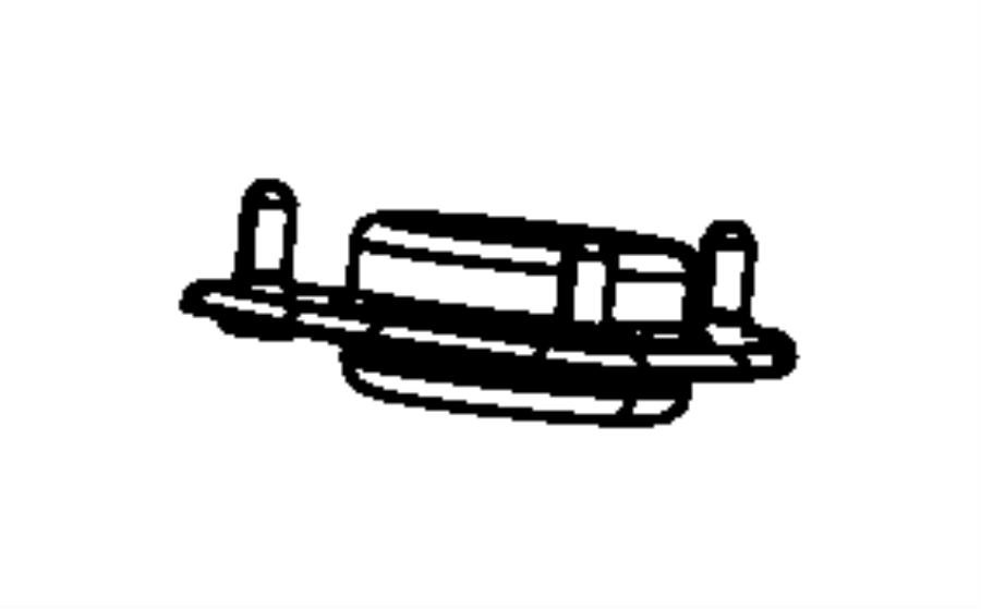 2010 Dodge Avenger Mount. Strut. Suspension, front