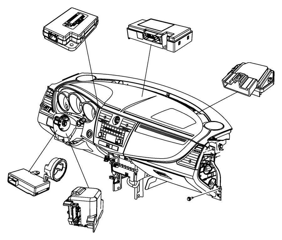 2008 Dodge Avenger Receiver. Keyless entry. Monitoring