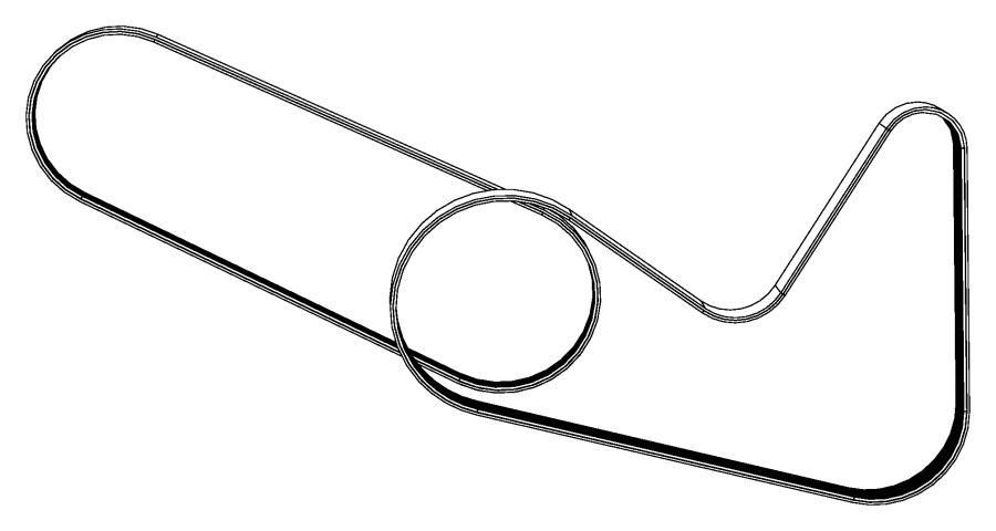 2010 Chrysler Sebring Belt. Accessory drive, serpentine