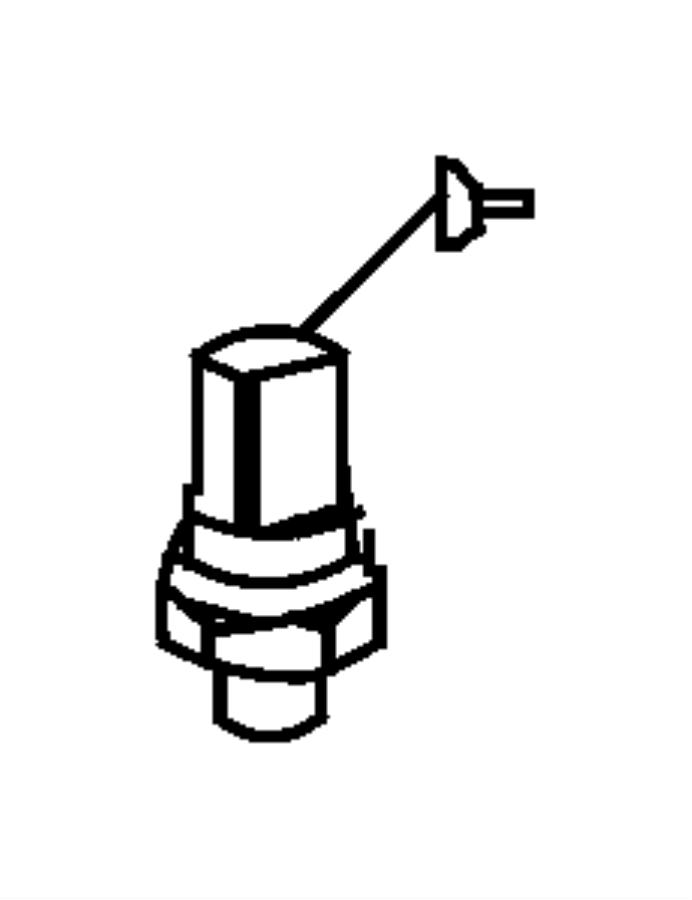 Jeep Grand Cherokee Sensor. Exhaust back pressure. [all 3