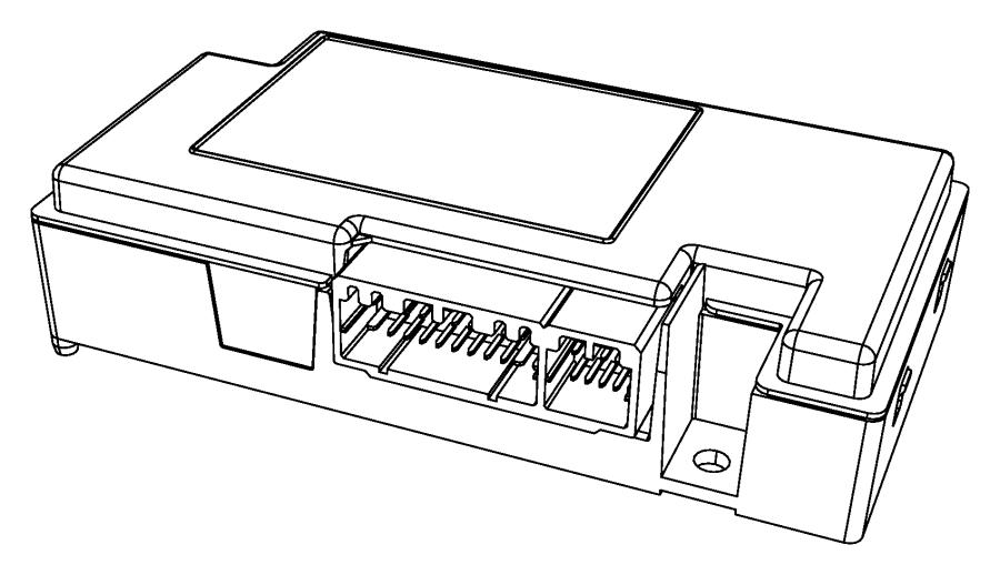 2010 Dodge Ram 2500 Module. Telematics. Uconnect, voice