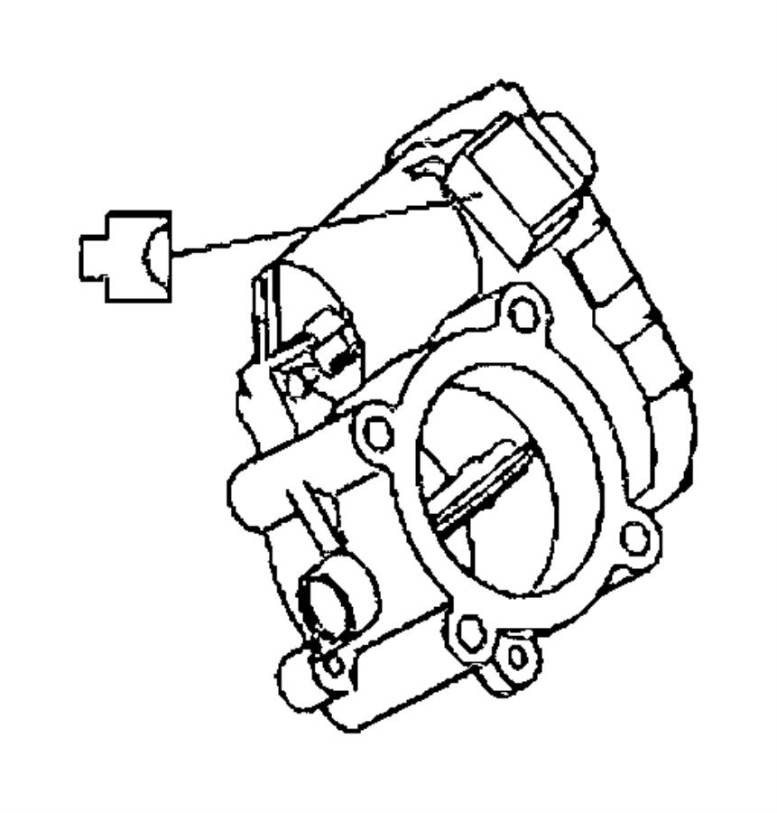 Dodge SPRINTER Throttle body. Service manual name [egr