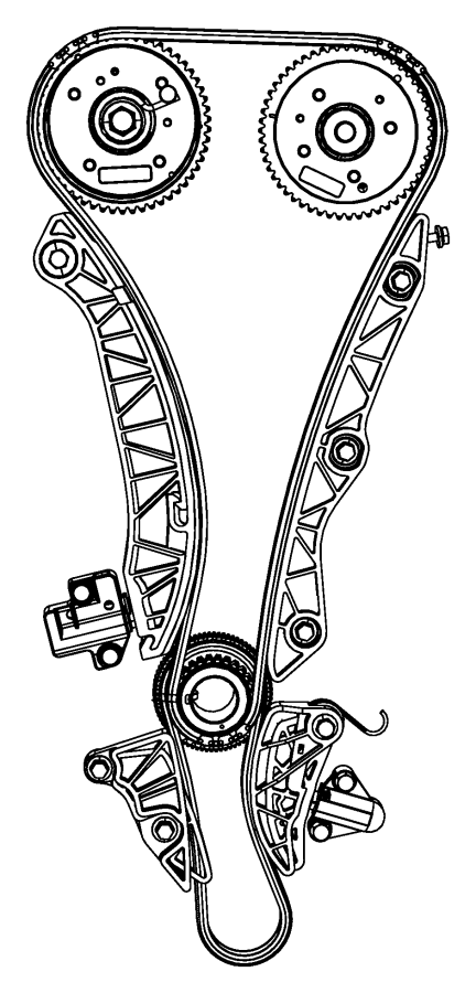 2011 Jeep Compass Guide. Balance shaft chain. Timing