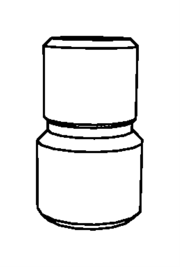 2012 Dodge Challenger Connector. Oil filter. M22x1.50