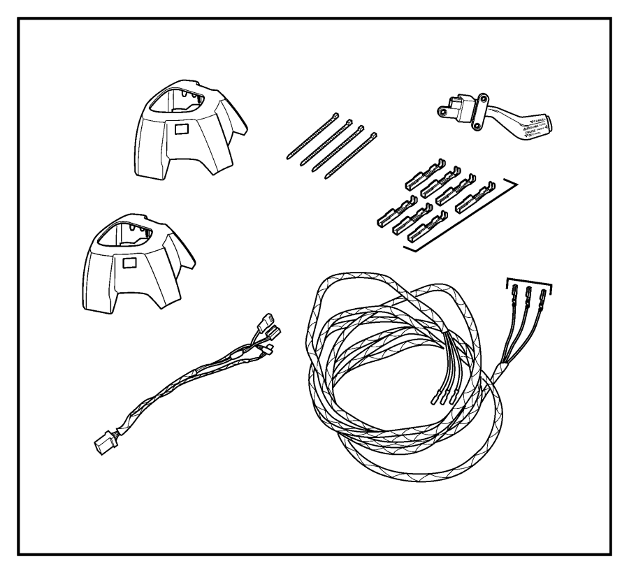 Jeep Compass Wiring. Steering wheel. Trim: [all trim codes