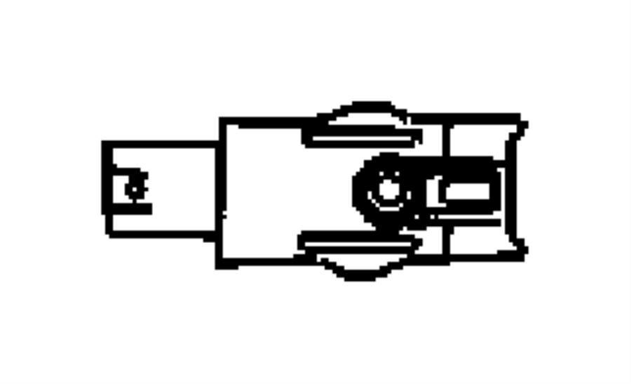 2004 Chrysler Crossfire Switch. Warning buzzer