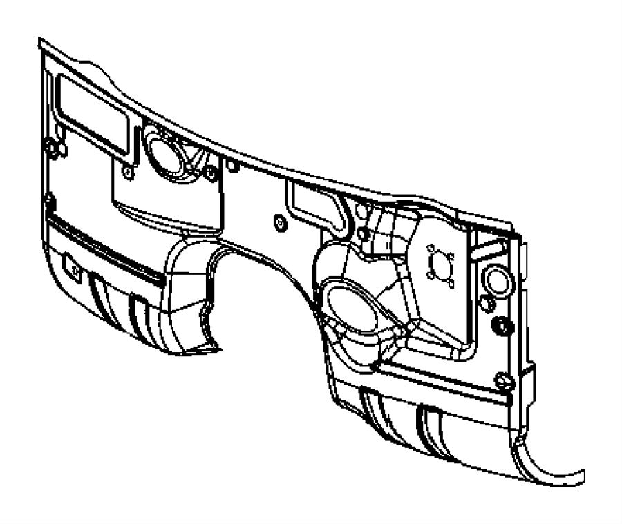 Dodge Magnum Panel Dash Related Cowl