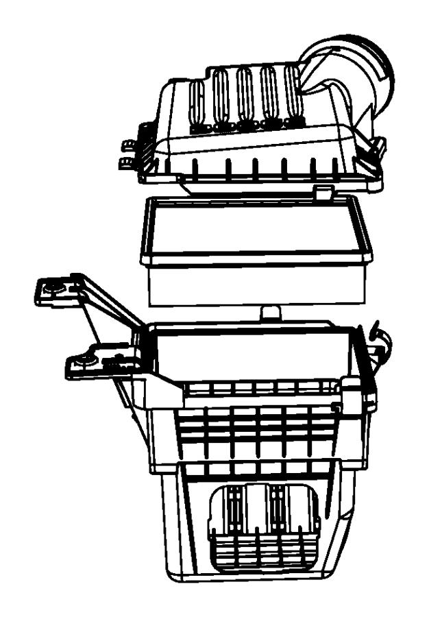 2009 Dodge Durango Element, filter. Air, air cleaner