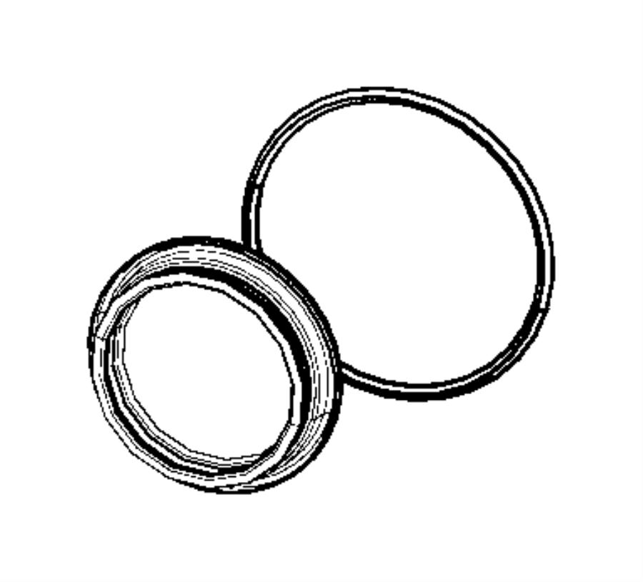 Chrysler Pacifica Seal. Input shaft. Power, unit, transfer