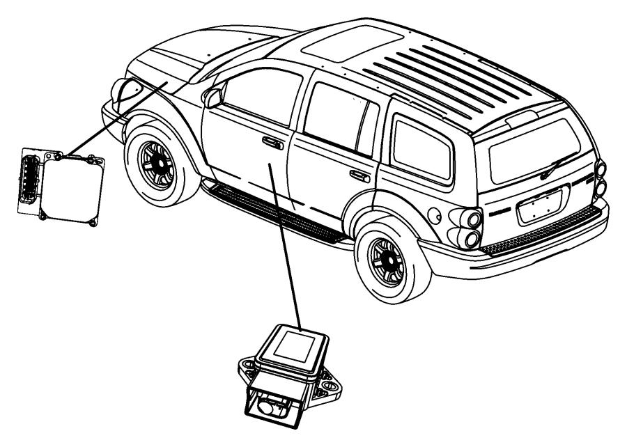 Chrysler Aspen Control unit. Anti-lock brake. [anti-lock 4