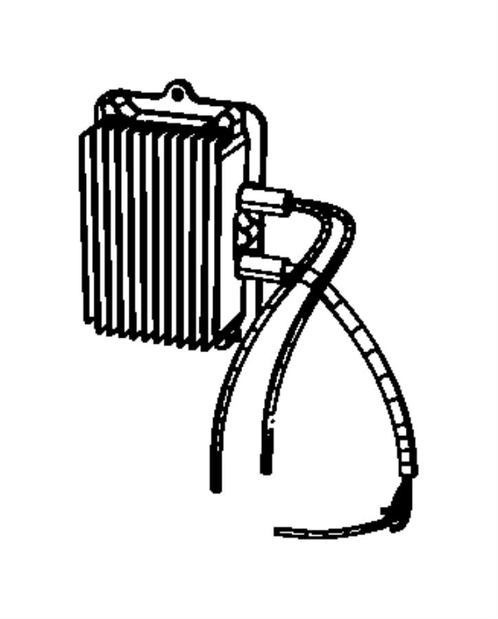 Chrysler Aspen Module. Auxiliary transmission pump. Mopar