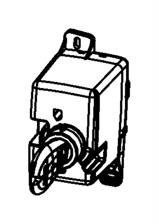 2009 Dodge Journey Receiver. Wireless ignition node. Power