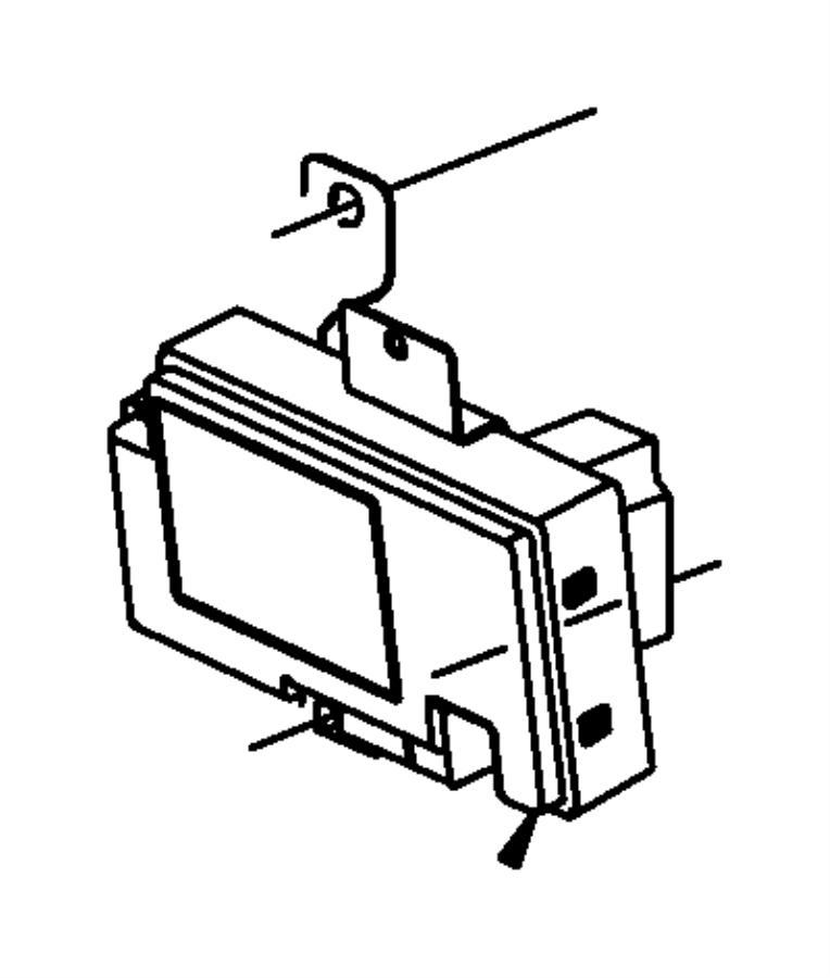 Jeep Grand Cherokee Module. Telematics. Uconnect, nav