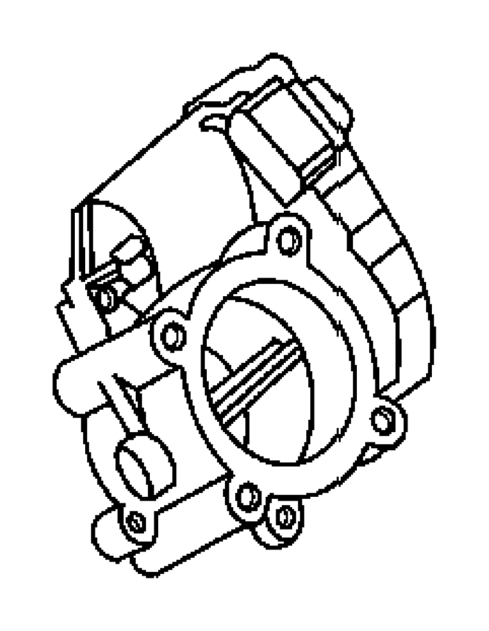 Dodge SPRINTER Throttle body. Service manual name [egr