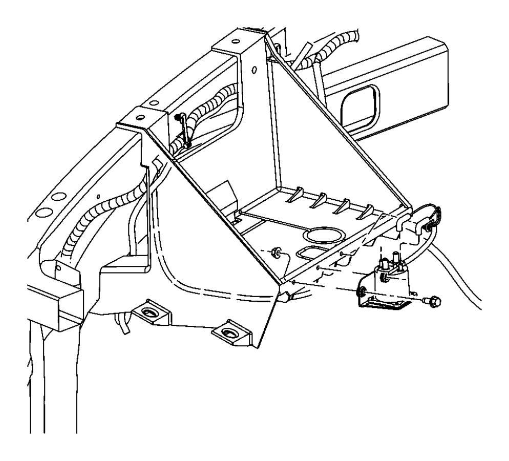 2013 Dodge Ram 3500 Relay. Ait intake heater, g8v-rh-1a7t