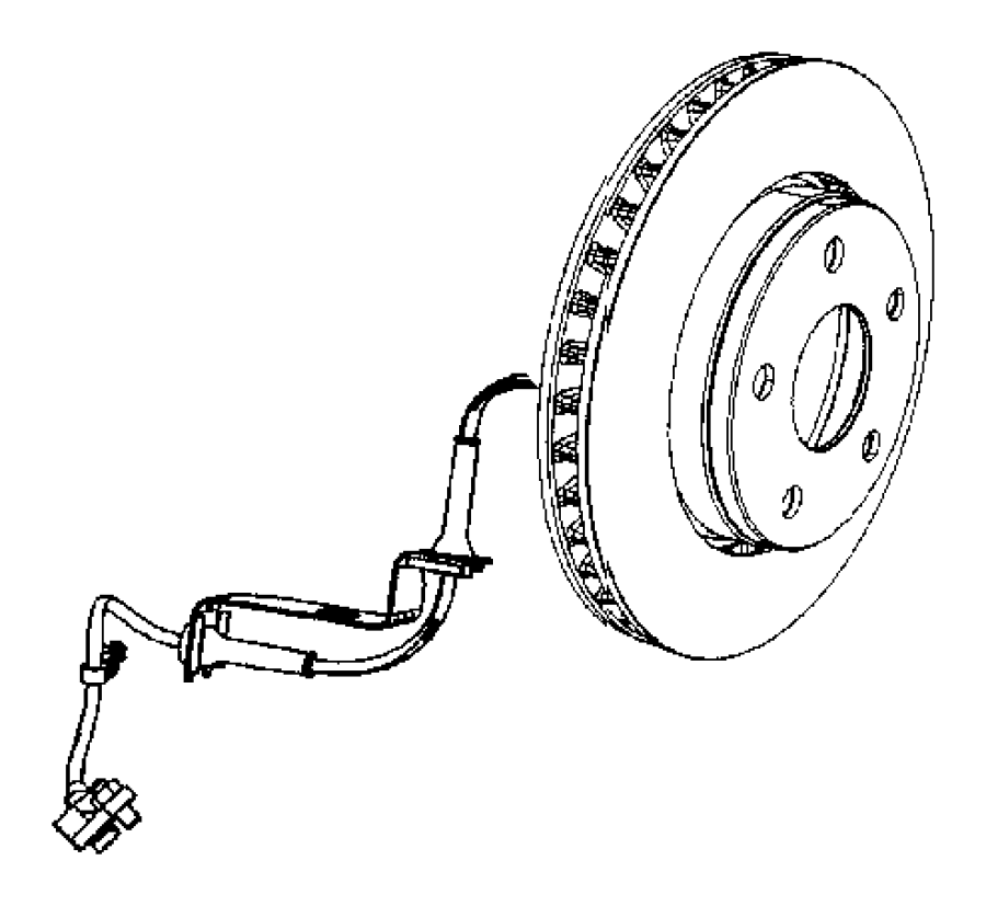 2011 Dodge NITRO Sensor kit. Anti-lock brakes. Front