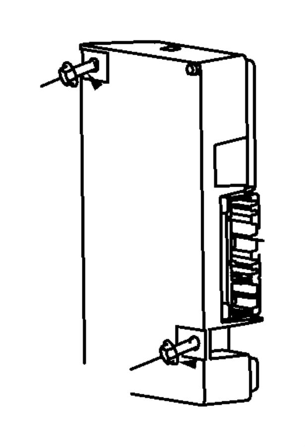 2010 Dodge Avenger Module. Telematics. [uconnect voice