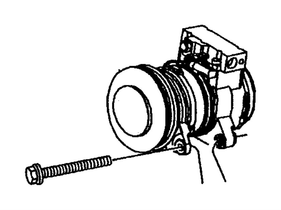 Dodge Dakota Compressor. Air conditioning. Remanufactured