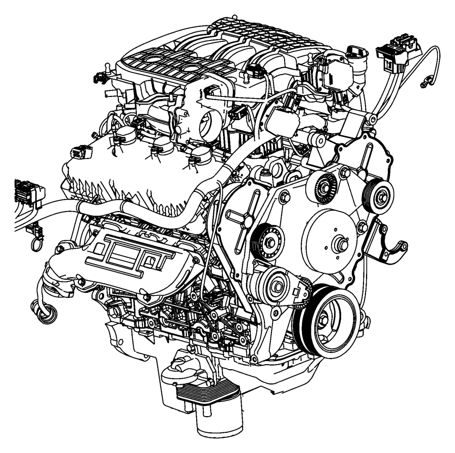 2008 Dodge NITRO Engine. Long block. Remanufactured. Group
