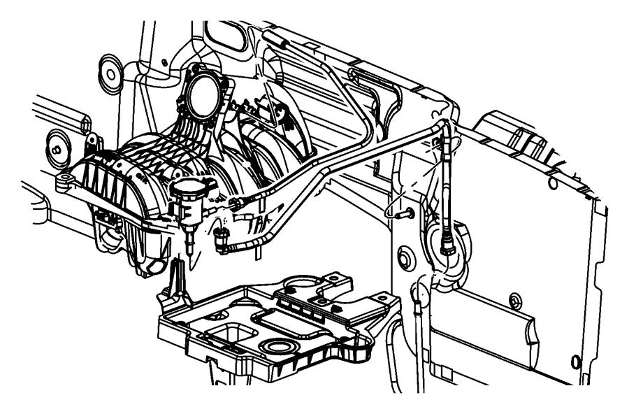 2010 Dodge NITRO Harness. Vapor purge. Emission, vacuum