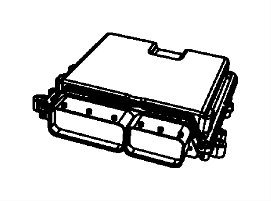 Jeep Wrangler Module. Powertrain control. Generic. New