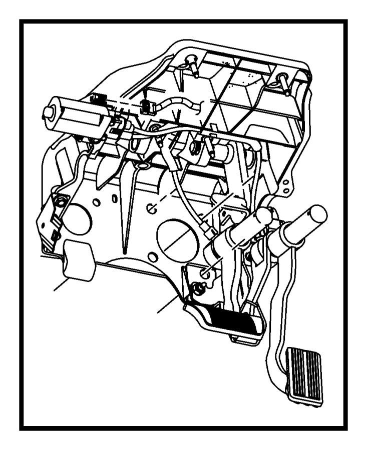 Dodge Ram 1500 Pedal. Accelerator. Nhn, apps, dgo