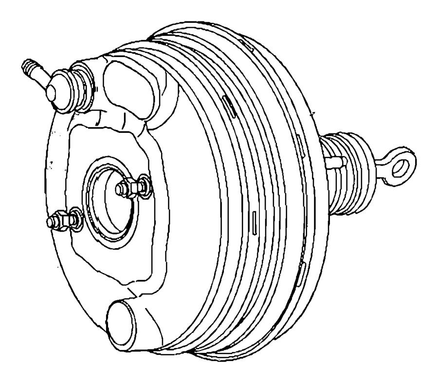 Dodge Challenger Booster. Power brake. [anti-lock 4-wheel