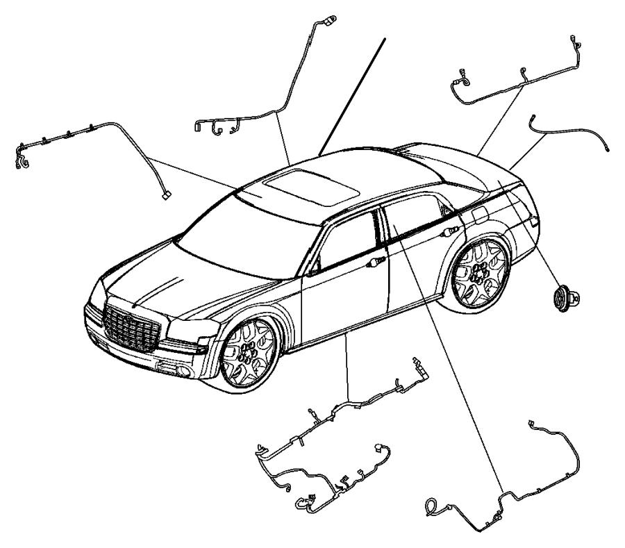 Chrysler 300 Wiring. Dvd power. [sirius backseat tv