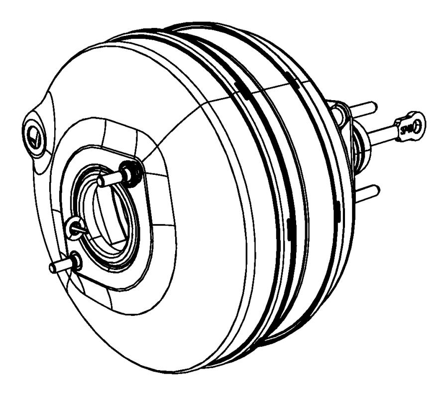 2009 Dodge Ram 1500 Booster. Power brake. Built, vehicles
