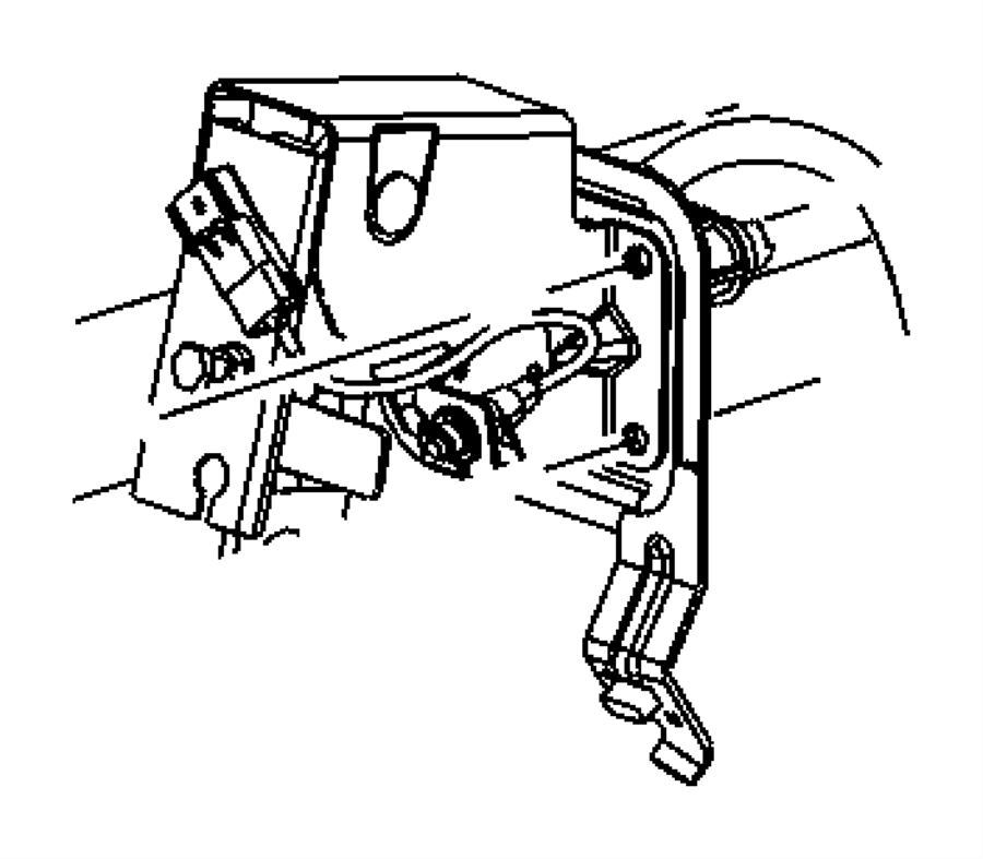 Jeep Compass Pedal. Clutch. [6-speed manual aisin bg6