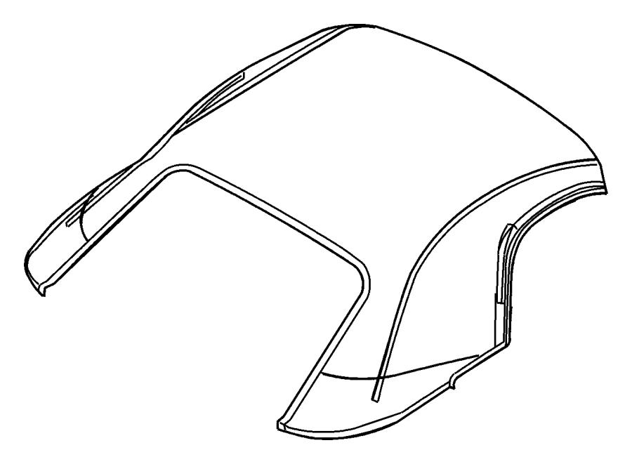 Dodge Viper Cover. Folding top. [x9]. Color: [no
