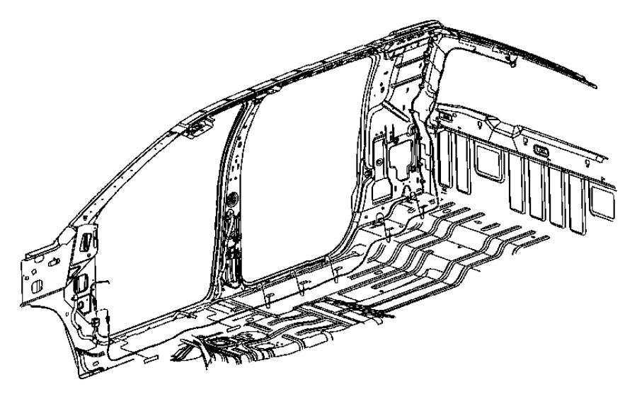 2006 Dodge Ram 1500 Wiring. Radio, satellite antenna