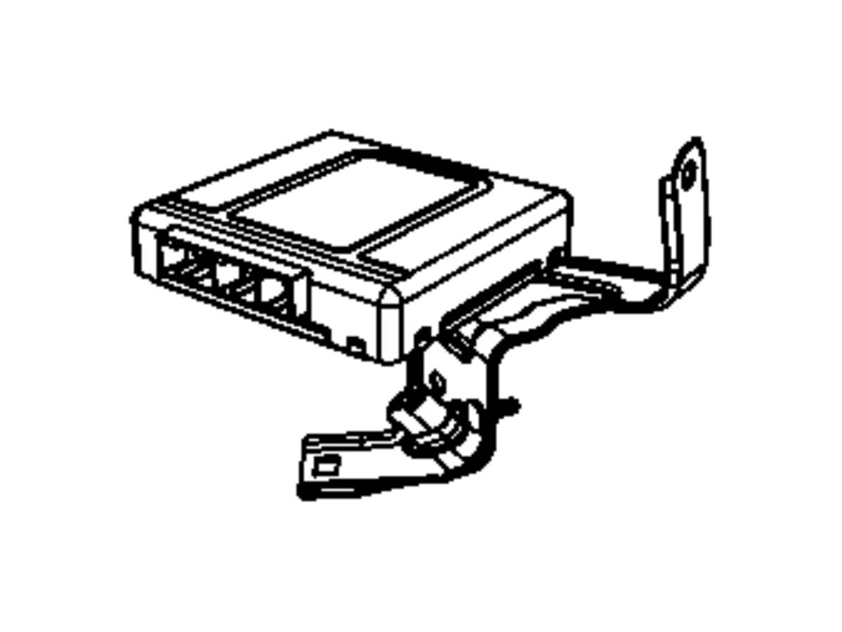 2010 Dodge Ram 4500 Module. Transmission control. Modules