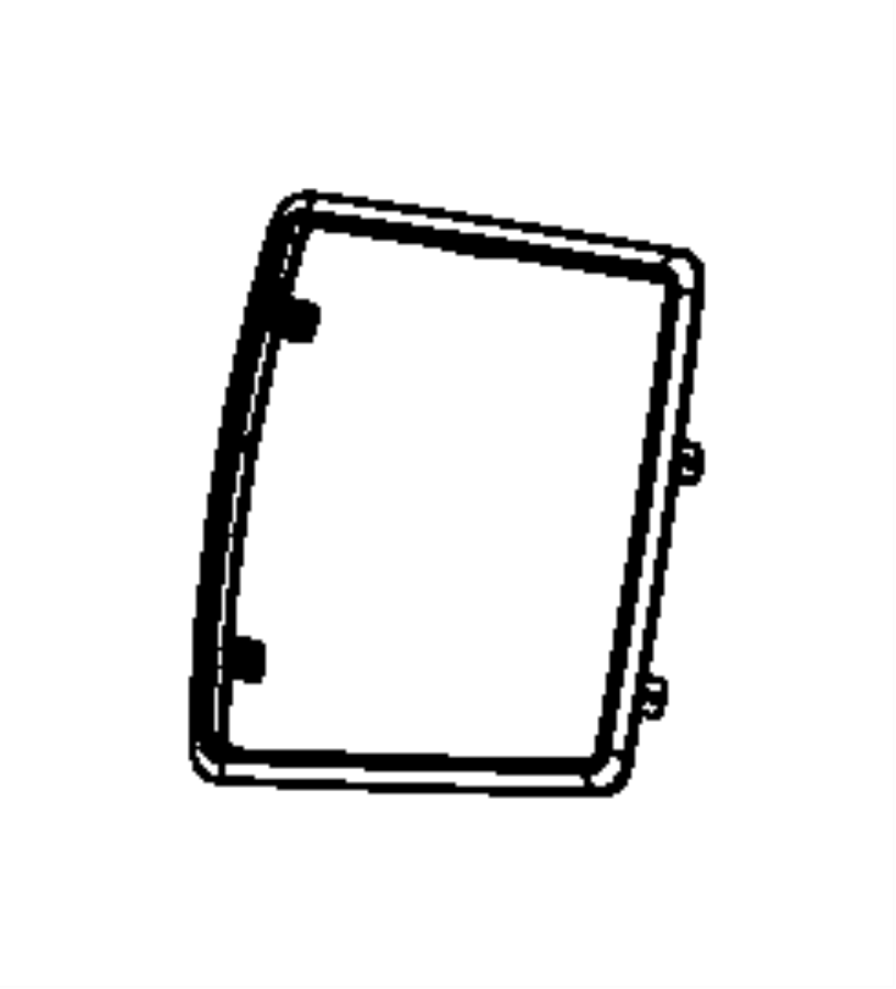 Chrysler 300 Ring. Trim. Trim: [all trim codes] color: [no